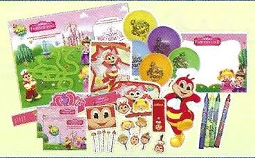 Jollibee Party Package 2019 - Party Favors