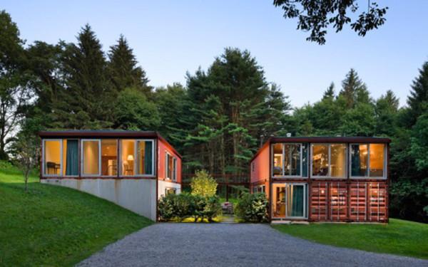 Model Desain Rumah dari Kontainer