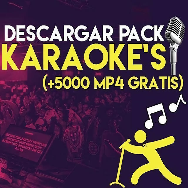 Pack +5000 KARAOKES [MP4] - Zonadjsgroup