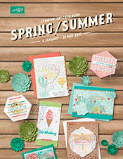 Stampin' Up! UK Spring Summer Catalogue - Available here now