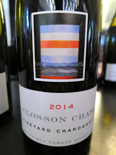 Closson Chase Vineyard Chardonnay 2014 - VQA Prince Edward County, Ontario, Canada (91 Pts)