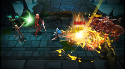 BLADE WARRIOR 3D Action RPG Mod Apk Android
