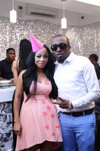 Toke Makinwa Writes Lovely Message To Ice Prince As He Celebrate 31th Birthday Today.
