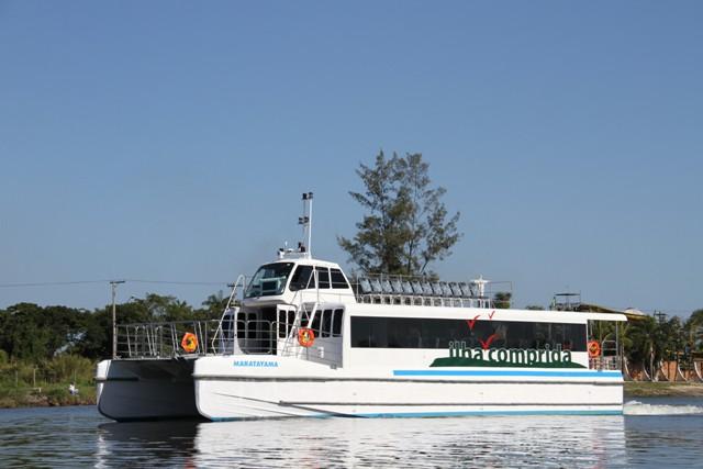 Defensoria Pública pede indenização a Comunidade Caiçara por Danos Ambientais do Barco Catamarã da Ilha Comprida