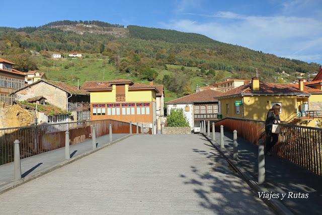 Casas de Salas, Puente sobre el Nonaya, Asturias