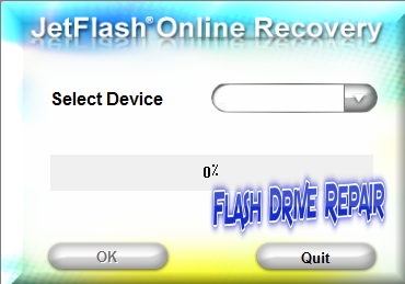 Transcend Jetflash Online Recovery Tool For all Jet Flash Drive Series