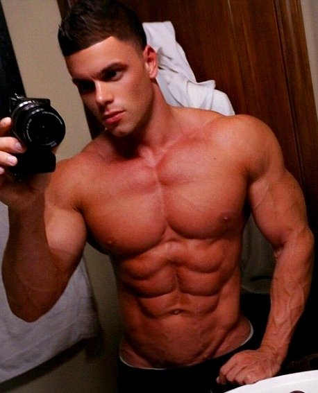 Handsome Hunks with Sexy Washboard 6 Pack Abs - Yum a Guys
