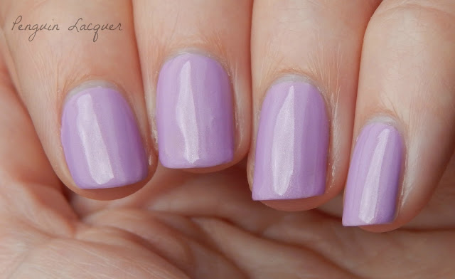 kiko smart fast dry lacquer 023 pearly golden lilac nah