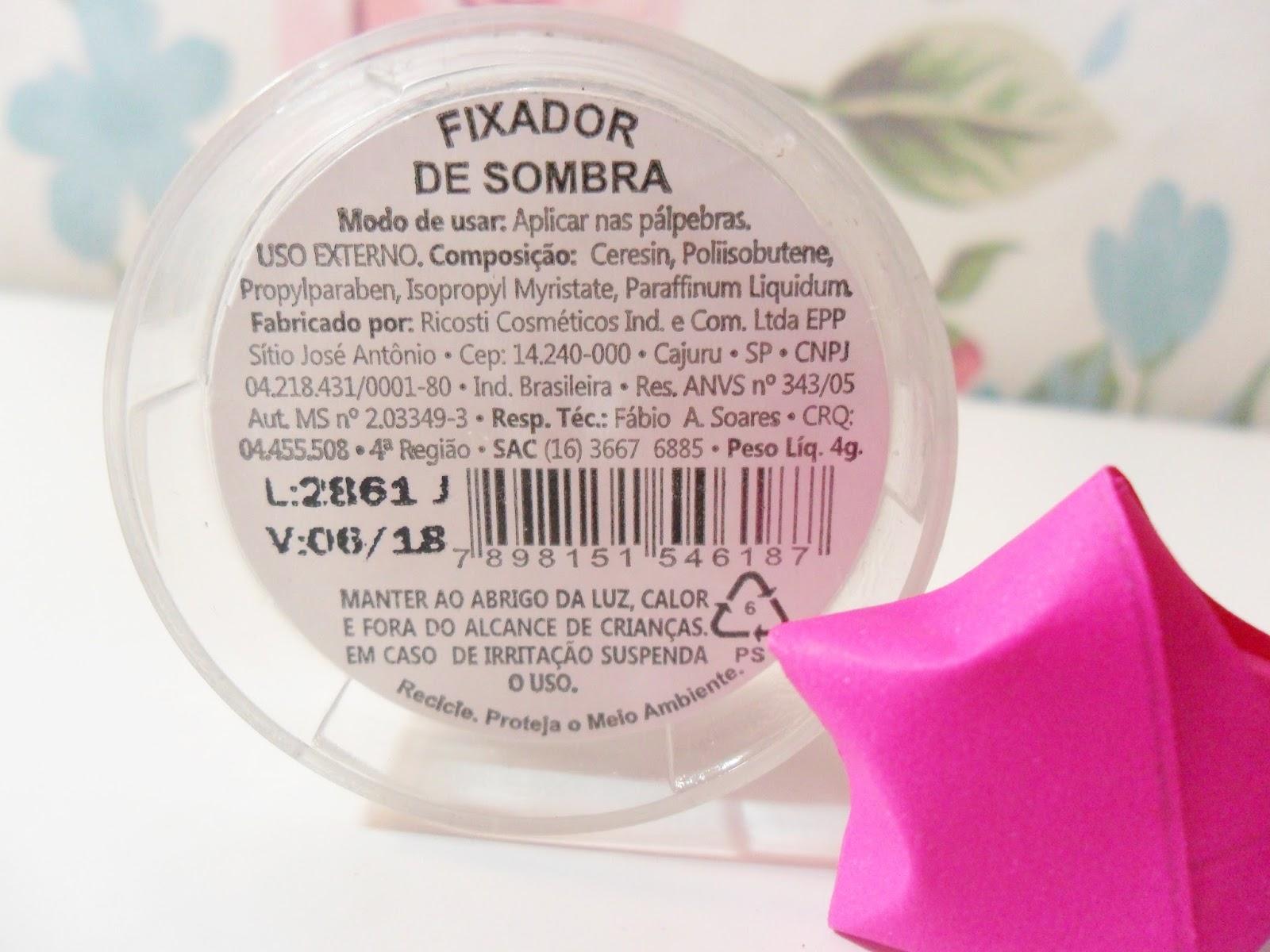 FIXADOR DE SOMBRA - RICOSTI