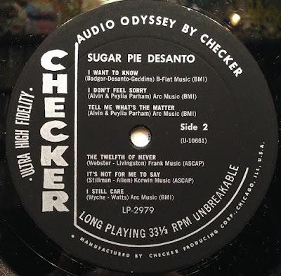 Sugar Pie DeSanto - Sugar Pie (1961 2018)