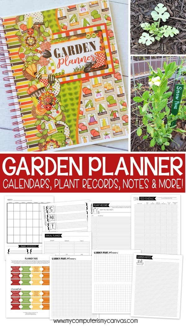 Garden Planner Journal Free Weekly To Do Page My Computer Is