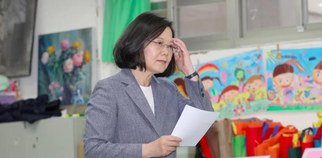 China: Hasil Pemilu Taiwan Tunjukkan Keinginan Berdamai Dengan Beijing