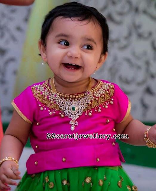 Little Cutie in Diamond Necklace