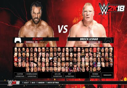 Download WWE 2K18 Highly Compressed Game For PC