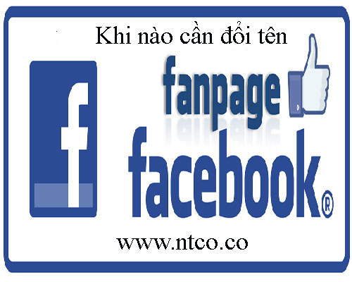 Khi nao can doi ten fanpage