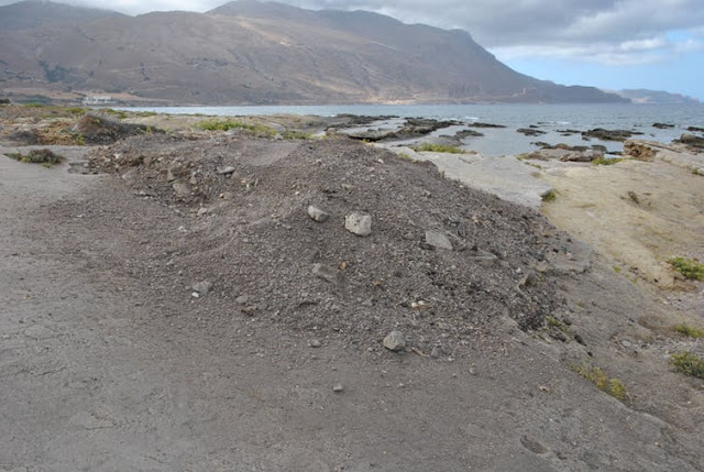 Man charged for theft of fossil footprints in Crete