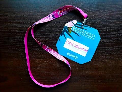 Proč bloguji, a co mi dal Blogerfest 2018?