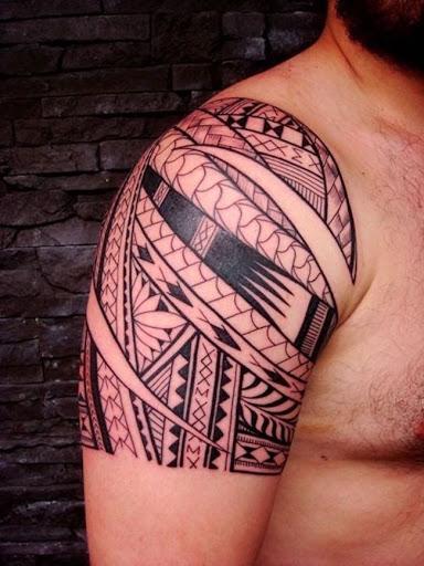 Este geométricas polinésia tribal design