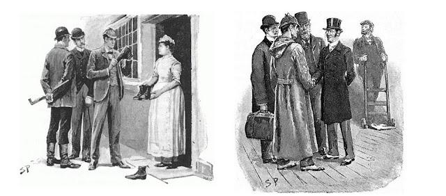 Sherlock Holmes deerstalker cap inverness cape sidney paget arthur conan doyle