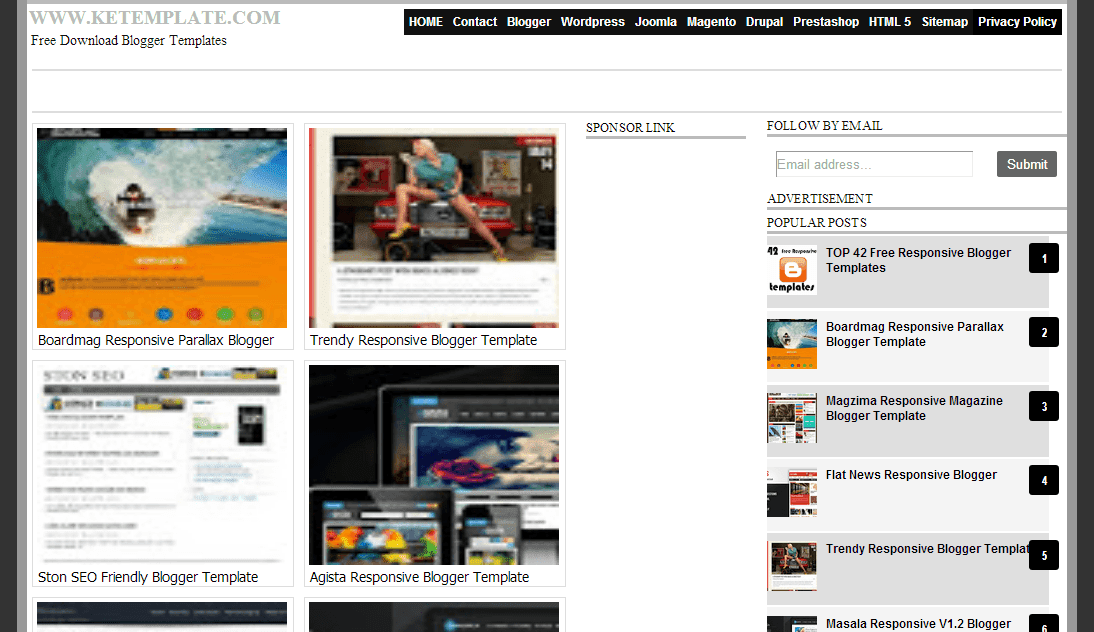 30+ Websites to Submit Your Blogger Template | Code Nirvana