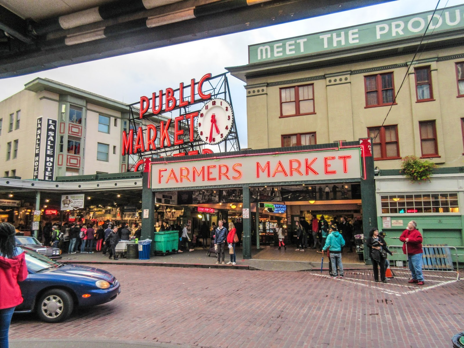 pike place seattle market main arcade cannundrums