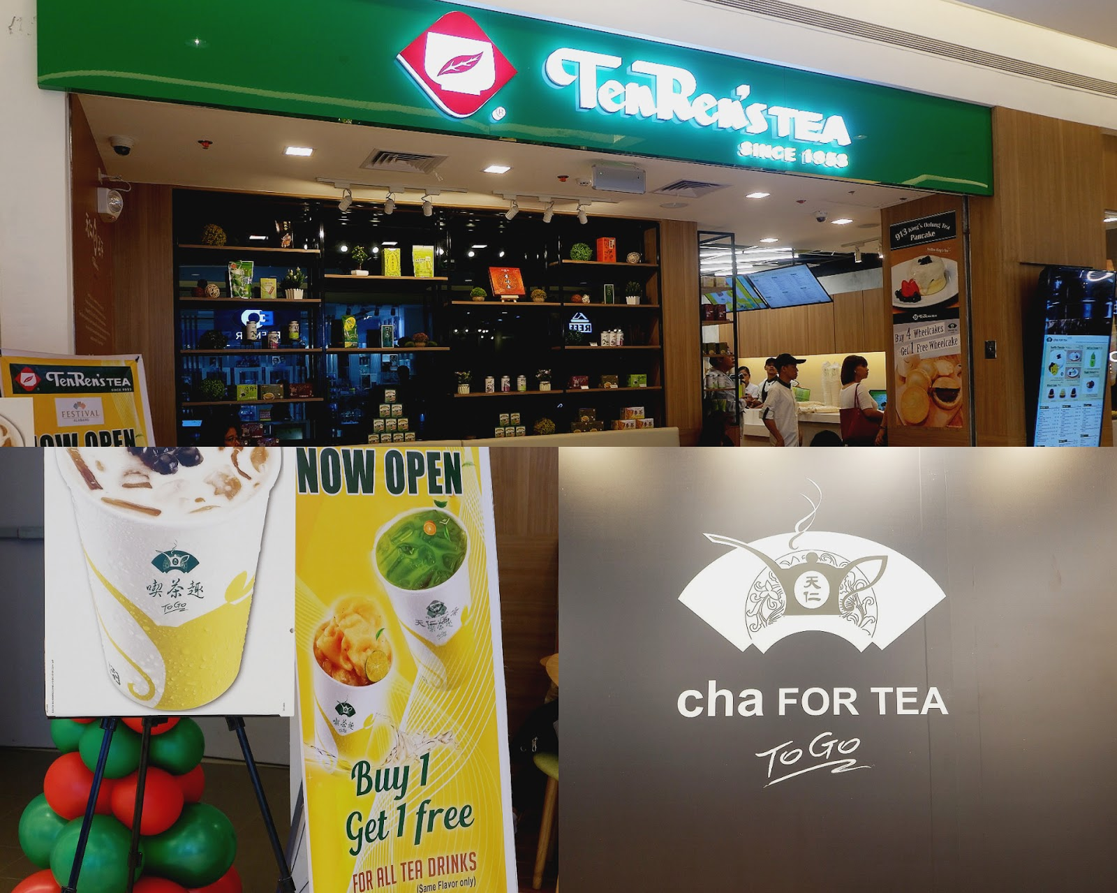 ten ren tea opens their 3rd branch in the Philippines