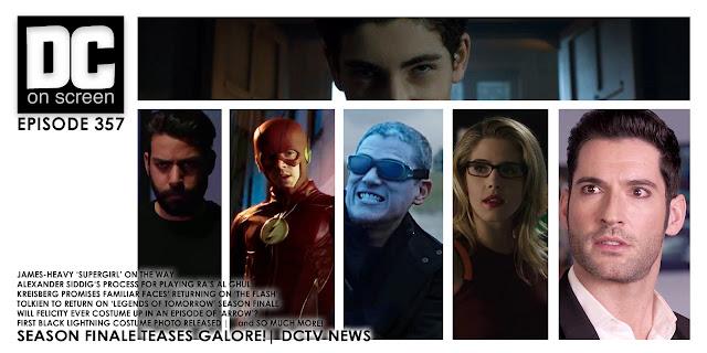 Gotham Supergirl The Flash Legends of Tomorrow Arrow Lucifer Stills