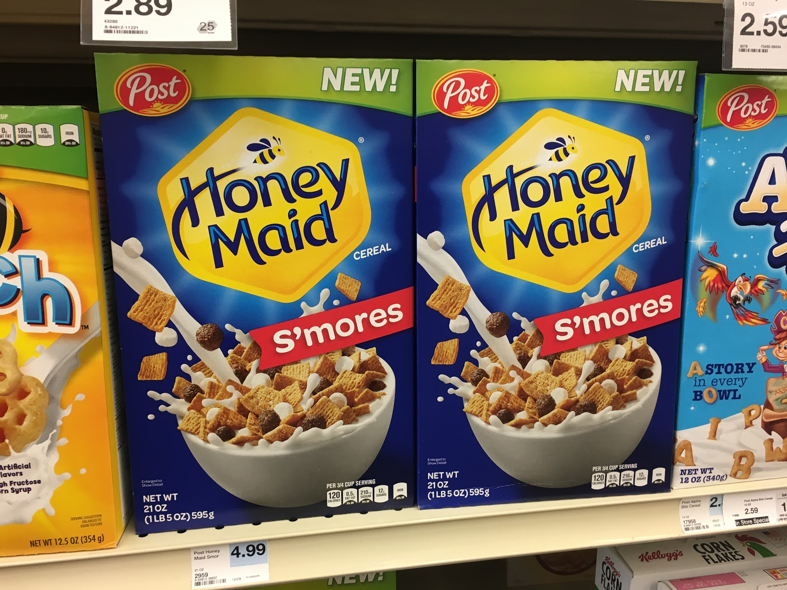 I Was Excited To Hear That Hy Vee Is Now Carrying Honey Maid S Mores Cereal And We Were Going Have The Opportunity Share It With You