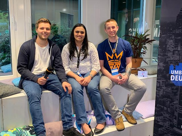 UFD19 Speaker's interview - Callum, Poornima and Marcin