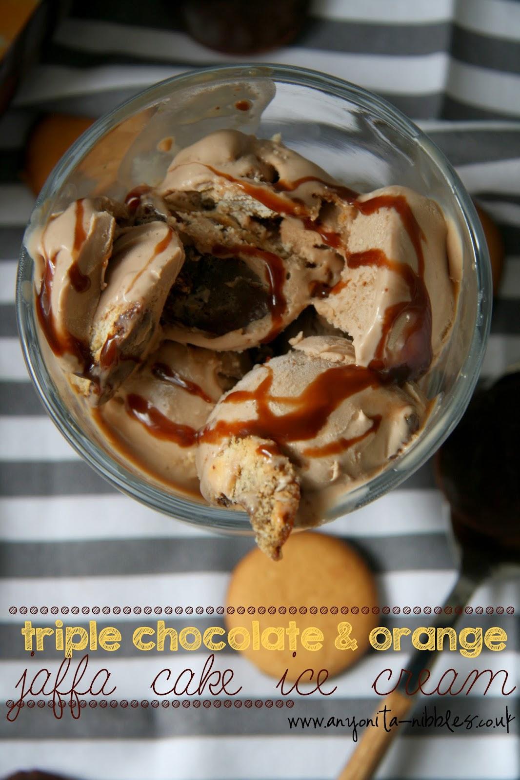 Triple chocolate & orange ice cream by Anyonita Nibbles