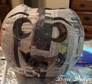 how-to-carve-cut-out-paper-mache-pumpkin-jack-o-lantern