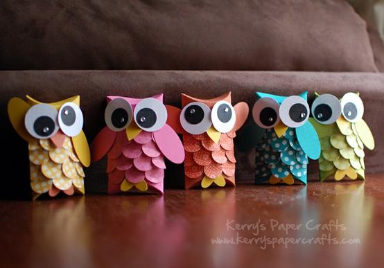 Kraftykym Owl Ornaments