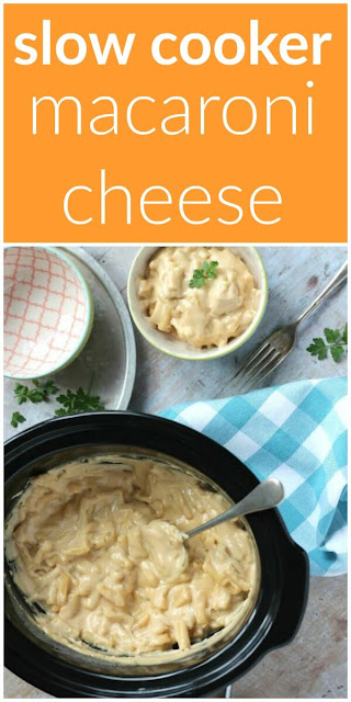 Slow Cooker Macaroni Cheese