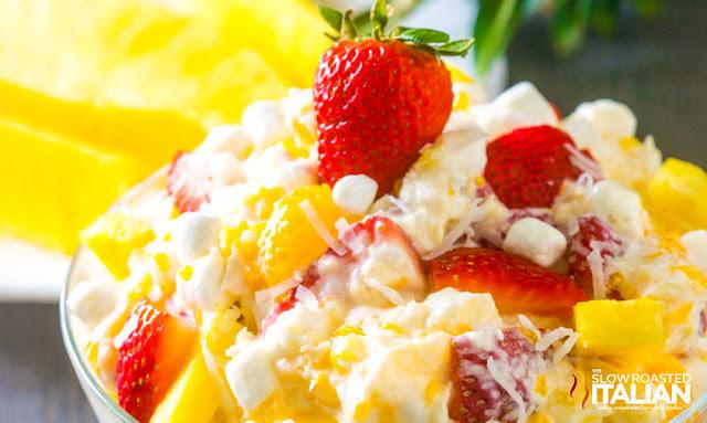 Strawberry Pineapple Ambrosia Salad