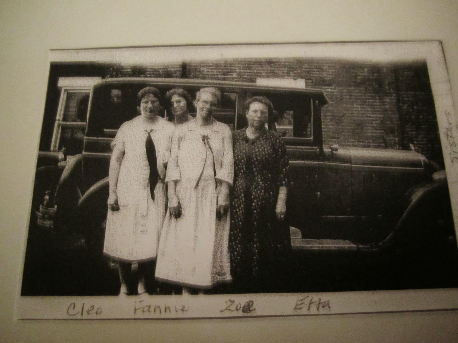Climbing My Family Tree: The Hartman Girls - Cleo Duffield, Fannie Hart-Erwin, Zoe Rader & Etta Archer