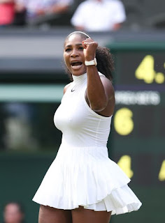 Serena Williams Wimbledon tennis outfit