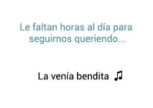 Marco Antonio Solís Los Bukis La Venía Bendita significado de la canción.