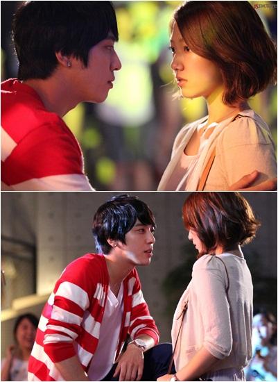 park shin hye and jung yong hwa