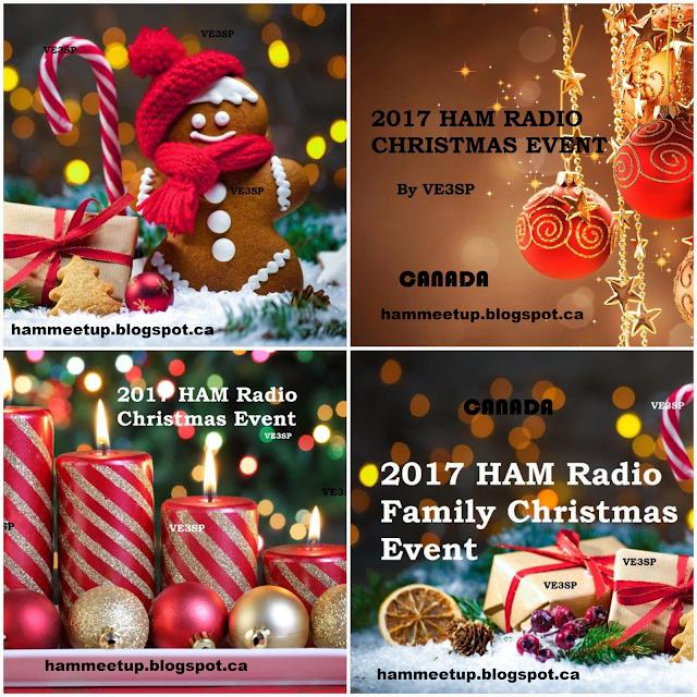 2017 HAM Radio Canada Christmas Event