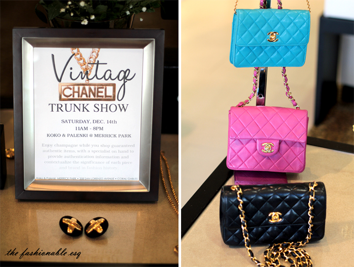 trunk show chanel rare vintage