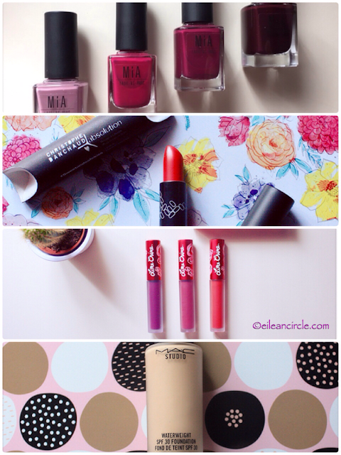 Maquillaje, Lime Crime, Mia Laurens, Absolution Cosmetics, MAC Cosmetics