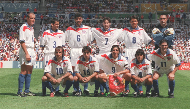 Formación de Chile ante Camerún, Copa del Mundo Francia 1998, 23 de junio