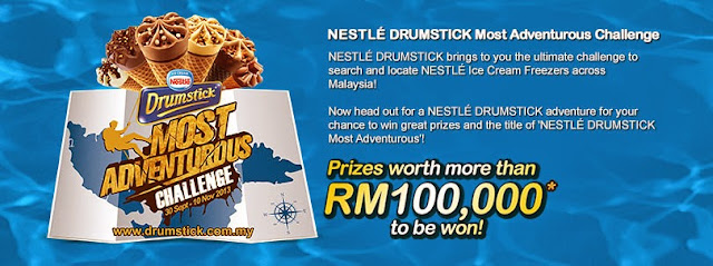 Nestle Drumstick Most Adventurous Challenge on Facebook