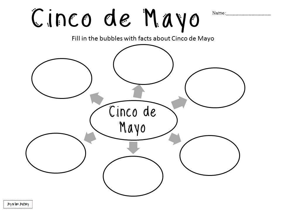 Fifth Grade Freebies: Cinco de Mayo Activities