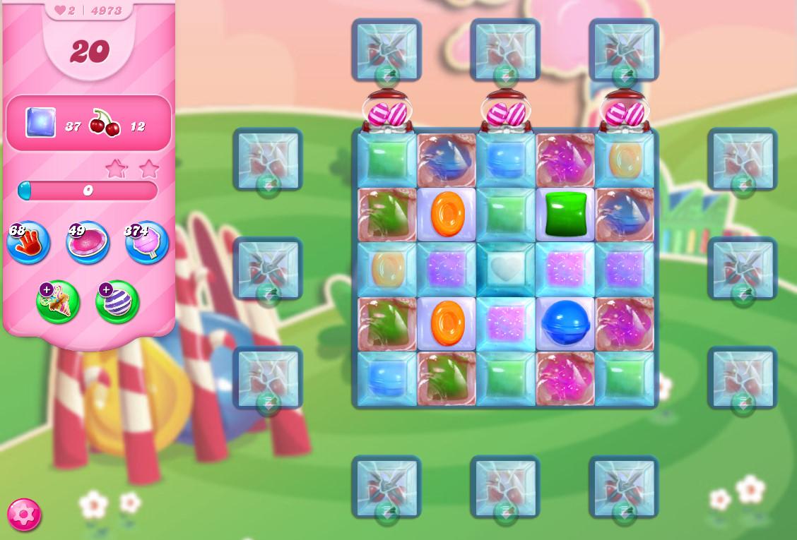 Candy Crush Saga level 4973