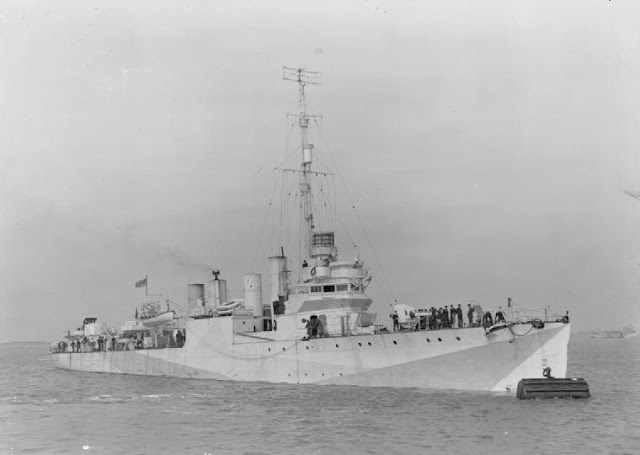 12 April 1941 worldwartwo.filminspector.com HNoMS Mansfield
