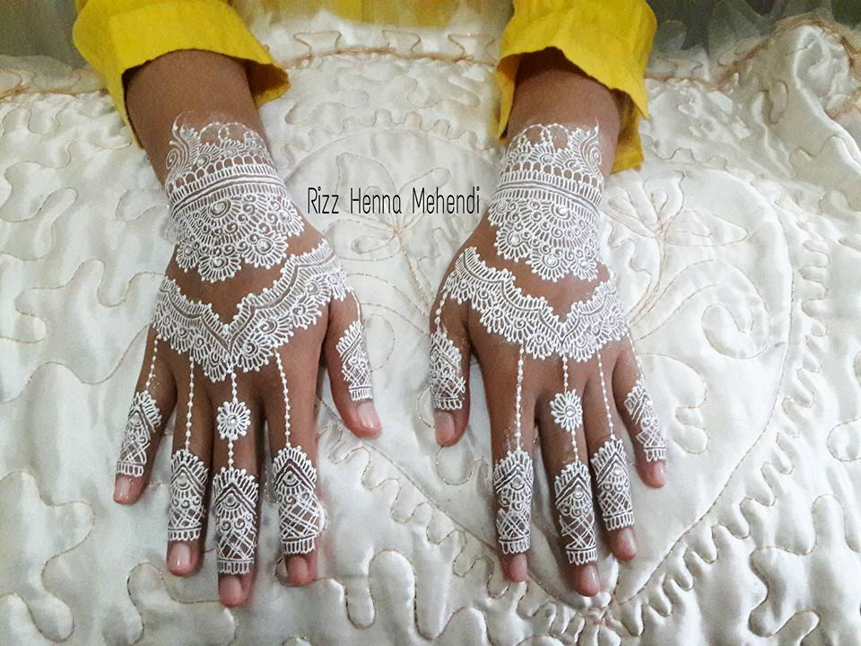 Rizz Henna Mehendi Jakarta Sparkling White Henna