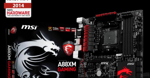 5 Motherboard terbaik untuk Socket AMD FM2 (1 jutaan
