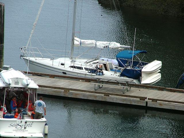 Matia Island float