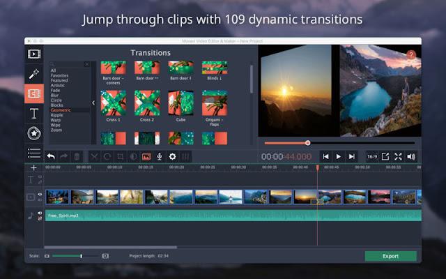 كيفية تفعيل برنامج movavi video editor 14